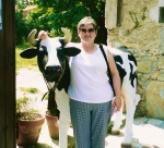Mum with a cow... nope, me either