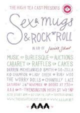 Fund raising time again! Sex & Mugs & Rock & Roll RoundII